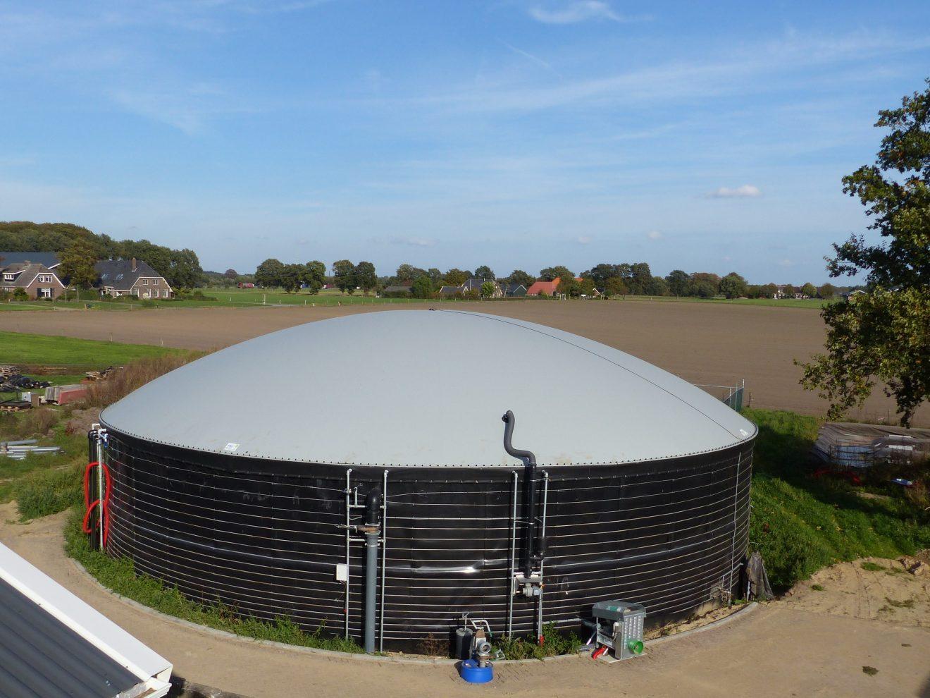 Biogas voorbeeld